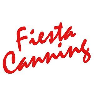 Fiesta Canning red script logo