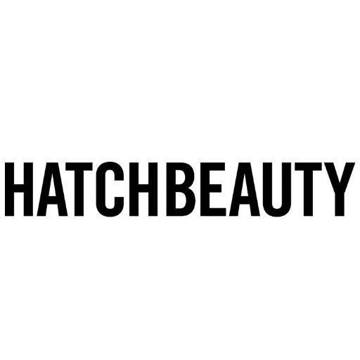 Hatchbeauty text logo