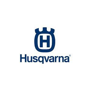 Husqvarna blue text logo
