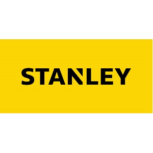 Stanely Tools Logo with yellow background and black lettering
