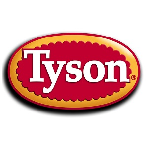 Tyson red and yellow logo